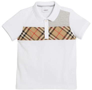 984b67a4444e Burberry White Boys' Polos - ShopStyle