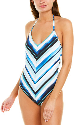 La Blanca Meridian Mitered One-Piece