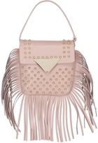 Sara Battaglia Cutie Fringed Leather Shoulder Bag