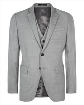 Tropical Wool Slim Jacket