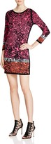 Nic+Zoe Starflower Abstract Floral Print Dress