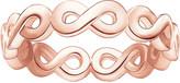 Thomas Sabo Infinity 18ct rose gold-plated ring