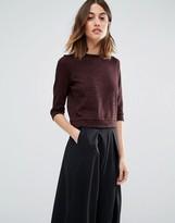 Vero Moda High Neck Pocket Front Sweater