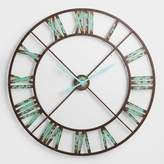 World Market Industrial Reed Wall Clock