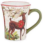 Certified International Winter Garden Reindeer Mug