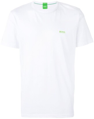 HUGO BOSS crew-neck logo T-shirt