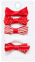 John Lewis Girls' Mixed Bow Clips, Pack of 5