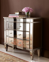 """Horchow """"Chelsea"""" Mirrored Chest"""
