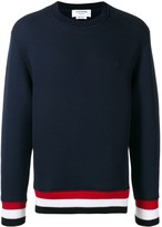 Thom Browne Oversized Chunky Loopback Pullover