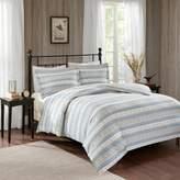 Woolrich 3-piece Nordic Snowflake Flannel Comforter Set