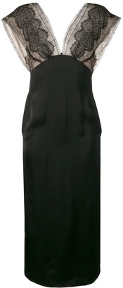 Victoria Beckham Lace Panel Dress
