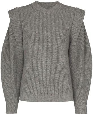 Isabel Marant Cap Sleeve Knitted Jumper