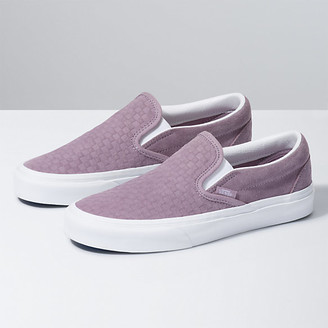 Vans Emboss Mini Check Classic Slip-On