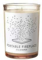 D.S. & Durga D.S.& DURGA Portable Fireplace 7oz Candle