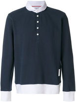 Thom Browne button-down T-shirt