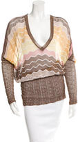 Missoni Knit Color Block Tunic