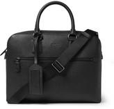 Polo Ralph Lauren Full-grain Leather Briefcase - Black