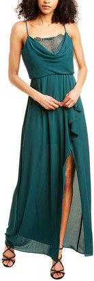 BCBGMAXAZRIA Blouson Maxi Dress