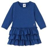 Petit Bateau Baby girls polka dot dress