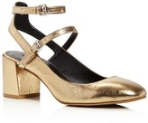Rebecca Minkoff Brooke Metallic Leather Mary Jane Pumps