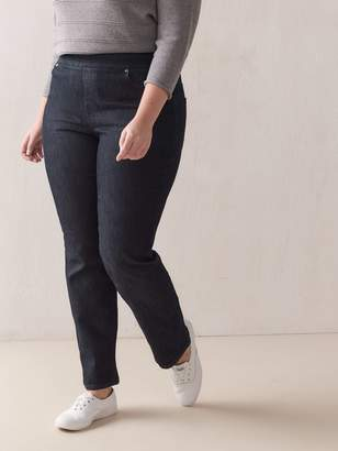 Universal Fit, Straight-Leg Dark Jeans - d/C JEANS