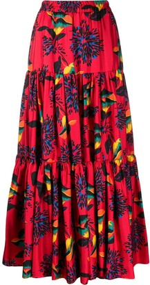 La DoubleJ Printed Full Skirt