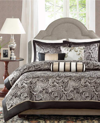 Madison Home USA Aubrey 6-Pc. King/California King Duvet Cover Set Bedding