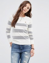 Maison Scotch Summer Striped Sweater