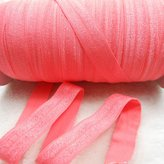 """mdribbons Stretch Fold Over Elastic Elastics FOE 5/8"""" Wide 50 Yards/Roll-For DIY Crafts,Ponytail Holder Headband Banner Hair Ties Headband Making- Color"""