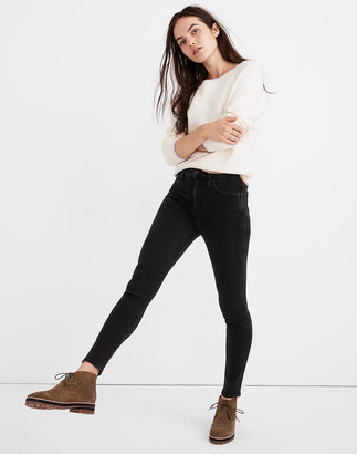 "Madewell Petite 10"" High-Rise Skinny Jeans in Starkey Wash"