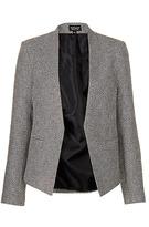 Topshop Monochrome boucle jacket