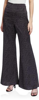 Alexis Minna Printed Wide-Leg Pants
