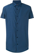 Armani Jeans shortsleeved shirt - men - Cotton/Polyester - XL