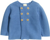 H&M Double-breasted Cardigan - Blue - Kids