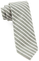 The Tie Bar Walkover Stripe Cotton Tie