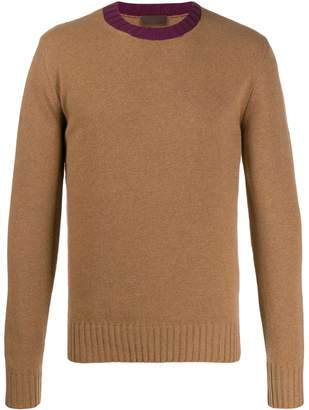 Altea contrast neck jumper