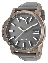 Puma Unisex PU103461004 Ultrasize Analog Display Quartz Grey Watch