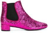 Pretty Ballerinas glitter ankle boots