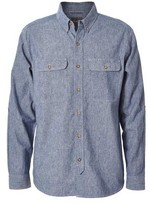 Royal Robbins Men's Headwall Chambray Long Sleeve Shirt