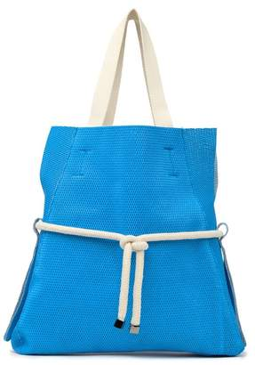 Persaman New York Lorie Woven Tied Tote