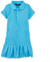 Ralph Lauren Eyelet Polo Dress