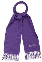 Moschino Embellished Merino Wool Scarf