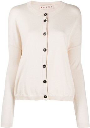 Marni Drop-Shoulder Cardigan