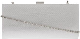 Collection Nefertiti Lock Silver Clutch Bag