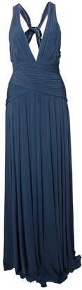 BCBGMAXAZRIA Blue Synthetic Dresses