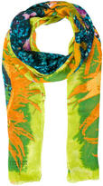 Christian Lacroix Abstract Printed Scarf