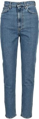 Helmut Lang High-Rise Slim-Fit Denim Jeans