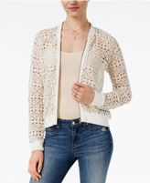BB Dakota Manuel Lace Bomber Jacket
