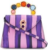 Moschino jewel closure handbag
