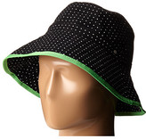 Lauren Ralph Lauren Cotton Polka Dot Canvas Bucket Hat